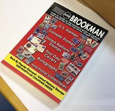 2008 Brookman Catalog U.S.& Canada Stamps & Postal Collectibles,used paperback #