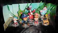 Disney Captain Jake & the Never Land Pirates Christmas Ornaments 7pc Set Izzy ..