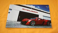 Marussia b2 2012 folleto brochure depliant Catalog prospetto prospecto cosworth