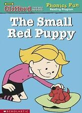 The small red puppy Clifford the big red dog