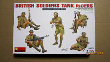 British Soldiers Tank Riders, WWII   1/35  by MiniArt  #  35071