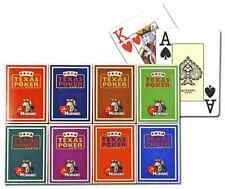 New 8 Decks Modiano 100% Plastic Playing Cards Poker Size Jumbo Index