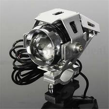 PHARE AVANT FEU 125W LED MOTO SUPERMOTARD DERBI STUNT MONTAGE SUR TUBE FOURCHE