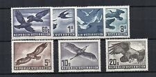 Austria 1950-53 Air set MLH/MH