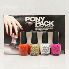 OPI Ford Mustang Collection Mini 4pc - PONY PACK 4pk Kit Set DCF02    Ship 24H