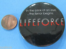 BUTTON '85 vintage LIFEFORCE Space Vampires movie promotion 2.25 inch