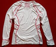 Womens Asics cycle Top sz M  training cycling bike running fitness shirt