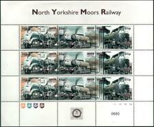 Steam Gala at Grosmont Shed NYMR Railway Letter Train Stamp Sheet/1998/MS91