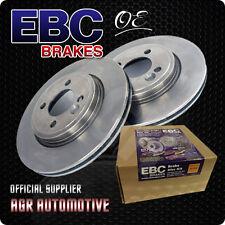 EBC PREMIUM OE REAR DISCS D601 FOR VOLKSWAGEN PASSAT 1.9 TD 130 BHP 2000-05
