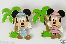 Tokyo Disney Resort Game Prize Pin Jungle Carnival Mickey Minnie TDR JAPAN