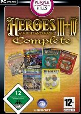 HEROES OF MIGHT AND MAGIC 4 + 3 +AddOns Deluxe Gold TopZustand