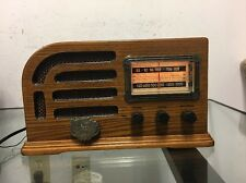 Rare Thomas-Collector-Edition-Tube-Radio Model 1946 Working
