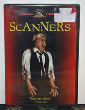 Scanners, 1980/ 2001 SciFi Science Fiction Horror DVD Mint Sealed New