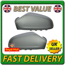 Left Right Pair Wing Door Mirror Cover Casing Cap for VAUXHALL ASTRA H MK5 04-09