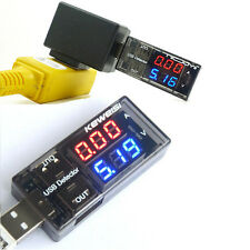 USB Charger Doctor Voltage Current Meter Mobile Power Detector Battery Tester jd