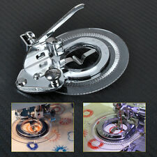 HOT Flower Circle Stitch Presser Foot for Low Shank Sewing Janome Brother Singer