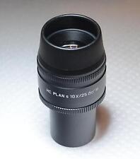 1x GRANDE Leica Microscopio Oculare HC 10x/25 M S Plan 507808 1150 7808 NUOVO IN SCATOLA