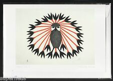 New • Kenojuak Ashevak Inuit • ART CARD • Majestic Owl