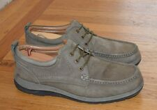Weinbrenner Men's Comfort Casual Sage Nubuck Leather Lace Up Shoes Size 9