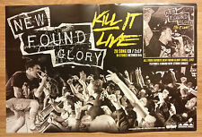 Music Poster Promo New Found Glory ~ Kill It Live