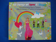 MACY'S 25 of Love & Hope: Bryan Ferry,Mariah Karey,Amy Winehouse,Luther Vandross