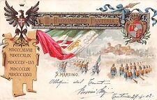 Cartolina - Reggimentali - 11°  Reggimento Fanteria Brigata Casale - 1903