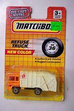 Matchbox Refuse Truck MB36 1993
