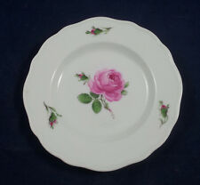 Meissen Pink Rose Bread and Butter Plate - 6 1/4 inches #2