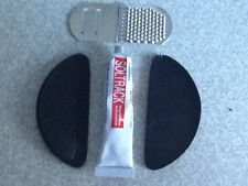 Soltrack stick on heel tips kit, with glue and file