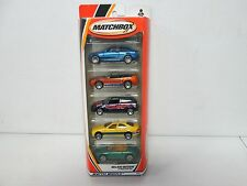Matchbox 5 Pack Gift Set Major Motion with Porsche & Mercedes 284