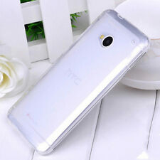 Ultra Thin Clear Transparent Soft TPU Silicone Case Cover for HTC One M7 act