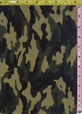 Military Camouflage Hunt David Textile Cotton Fabric 1/4 yd off bolt 22.8 cm