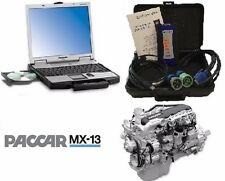 PACCAR Davie4 MX11/MX13 Engine Software, Toughbook CF52, Nexiq USB Link2 Adpater