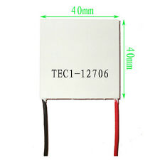 2 PCS TEC1-12706 Thermoelectric Cooler Peltier 12V 60W 92Wmax