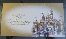 ONE RARE GOLD DISNEY DOLLAR ENVELOPE MINT