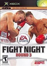 Fight Night: Round 3 (Microsoft Xbox, 2006) GAME COMPLETE
