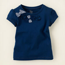 SFK Children's Place Bow Embellished Top
