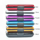 Waterproof Business ID Credit Card Wallet Holder Aluminum Metal Pocket Case BoxJ