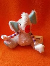 """Manhattan Toy Elephant Soft toy finger puppet Little Critters with label 5"""""""