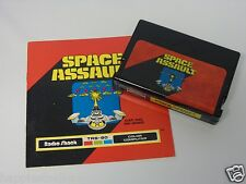 Tandy TRS80 Space Assault with Manual Video Game Computer System Console