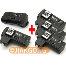 DSLRKIT RF-16NE 2.4Ghz Wireless Flash Trigger for CANON w/ 4 Receivers