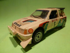 KIT (BUILT) 1:24 PEUGEOT 205 TURBO - RALLY SHELL - RARE SELTEN - GOOD CONDITION