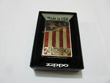 ZIPPO Stars & Stripes USA Bandiera v8 Big Block Rockabilly Nose Art Car Usa Army