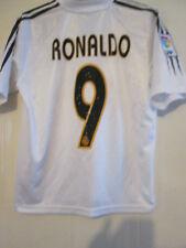 Real Madrid 2004-2005 Ronaldo Home Football Shirt Tamaño Grande Chicos / 39263