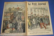 Le petit journal 1897 367 Soldats russes en France Obsèques dompteur Pezon