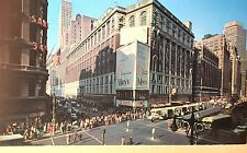 Vintage Postcard of Herald Square, Macy's, NYC, circa 1958