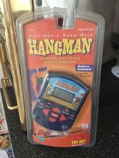Hasbro MB Hangman Electronic Hand Held Game 2 Games 3 Skill Levels Brand New
