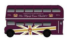 CORGI CC82326 HM QUEEN ELIZABETH II 90th Birthday Commemorative model bus 1:76th
