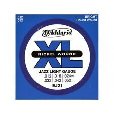 D'addario Jazz Light 12-52 EJ-21, I7*