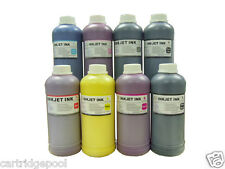8 Pint pigment refill ink for HP 771 designjet Z6200 Red/M/Y/LC/LM/LGY/MK/PK